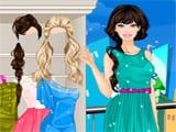 Juegos de vestir: Barbie in the rain