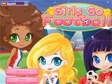 Juegos de vestir: Girls Go Soccer