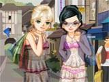 Juegos de vestir: Shopping Girls