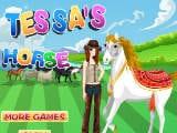 Juegos de vestir: Tessas Horse