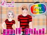 Juegos de Vestir y Maquillar: Couple Fashion