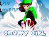 Juegos de vestir: Snoowy Girl