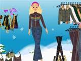 Juegos de Vestir: Barbie invierno
