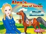 Juegos de vestir: Alex day of Jockey