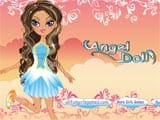 Angel doll dress up