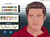Brad Pitt Make Up  - juegos de maquillar