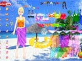Beach girl dress up