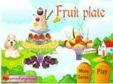 Beautiful fruit plate  - Juegos de Vestir Online