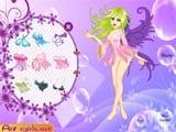 Beauty purple bubble fairy
