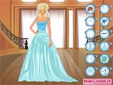 Blue Bride Dressup