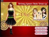 Britney Spears Date Dress Up - Juegos de vestir y maquillar hermanas