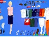 Business girl dressup