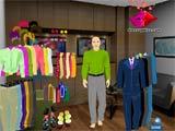 Businessman dress up