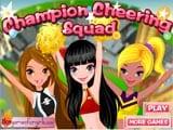 Champion cheering squad  - Juegos de Vestir Online