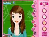 Juegos de vestir y maquillar: Chic girl makeover  -