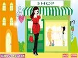 Chic shopping girl