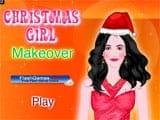Juegos de Vestir y Maquillar: Christmas Girl Makeover  -