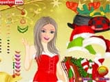 Christmass girl dressup