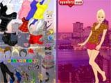 Juegos de vestir: City girl dressup