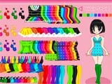 Colorful wardrobe  -