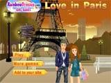 Couple in paris  - Juegos de Vestir Online