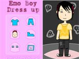 Emo boy dress up