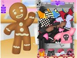 Emo gingerbread man