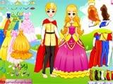 Juegos de vestir: Fairytale prince and princess