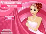 Fashionable Bride Makeover - Juegos de vestir y maquillar a princesas