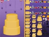 Halloween cake maker game