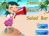 Jessicca s beach salad bar
