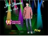 Joe jonas at the disco