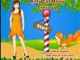 Kitty cat meow dressup