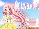 Lovely mini dress girl