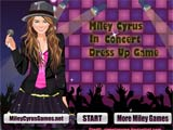 Miley cyrus in concert