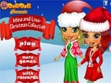 Juegos de Vestir: Mina and Lisa Christmas Collection