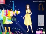 Juego de vestir a la moda: Monica bellucci dress up
