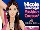Juegos de Vestir: Nicole Scherzinger Fashion Concert
