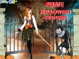 Juegos de vestir: Pirate halloween costumes