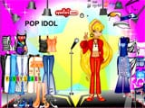 Pop idol dressup