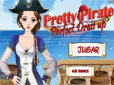 Juegos de vestir: Pretty Pirate Perfect Dress Up  -
