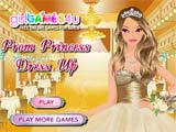 Prom princess dress up
