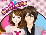Juegos de vestir: Super couple match