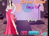 Juegos de vestir: Super model dress up