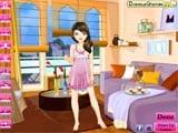 juego de vestir Trendy Pajamas Girl - juegos de vestir y maquillar