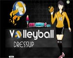 Volleyball Dress Up - Juegos de vestir y maquillar de halloween