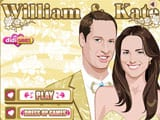 William y Kate - juegos de vestir y maquillar