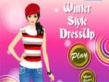 Winter style dressup