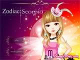 Zodiac Scorpio - Juegos de vestir y maquillar muñecas