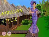 Juegos de Vestir: African Style